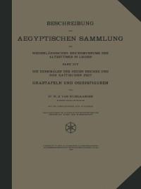 Cover Beschreibung der Aegyptischen Sammlung des Niederlandischen Reichsmuseums der Altertumer in Leiden