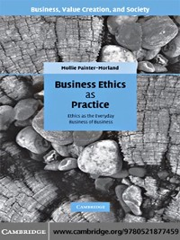 Cover Business Ethics as Practice