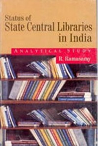 Cover Status of State Central Libraries In India