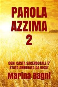 Cover Parola Azzima 2