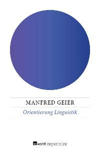 Cover Orientierung Linguistik
