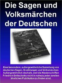 Cover Die Sagen und Volksmärchen der Deutschen