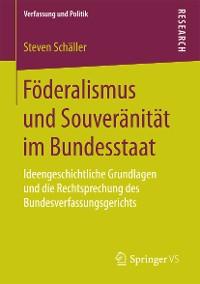 Cover Föderalismus und Souveränität im Bundesstaat