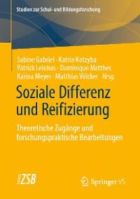 Cover Soziale Differenz und Reifizierung