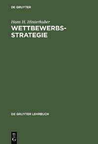 Cover Wettbewerbsstrategie