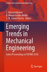 Cover Emerging Trends in Mechanical Engineering