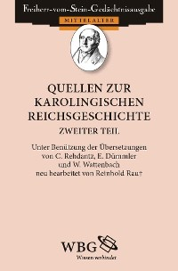 Cover Quellen zur karolingischen Reichsgeschichte