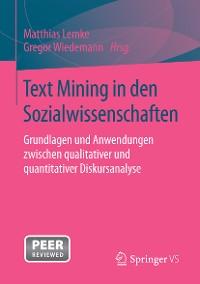 Cover Text Mining in den Sozialwissenschaften