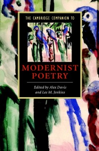 Cover Cambridge Companion to Modernist Poetry