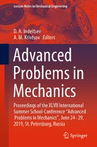 Cover Advanced Problems in Mechanics