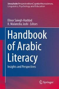 Cover Handbook of Arabic Literacy
