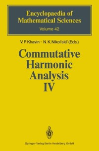 Cover Commutative Harmonic Analysis IV