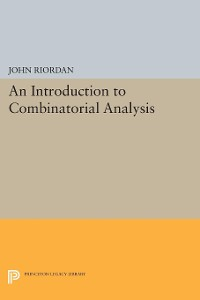 Cover An Introduction to Combinatorial Analysis