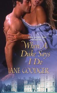 Cover When a Duke Says I Do