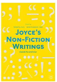Cover Joyce's Non-Fiction Writings