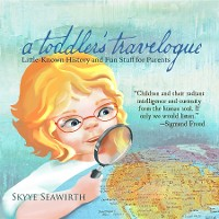 Cover a toddler's travelogue