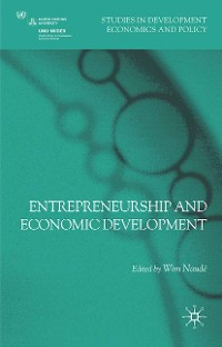 Cover Entrepreneurship and Economic Development