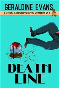 Cover Death Line (Rafferty & Llewellyn British Mysteries, #3)