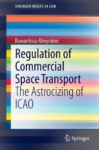 Cover Regulation of Commercial Space Transport