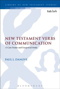 Cover New Testament Verbs of Communication