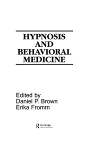 Cover Hypnosis and Behavioral Medicine