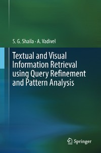 Cover Textual and Visual Information Retrieval using Query Refinement and Pattern Analysis