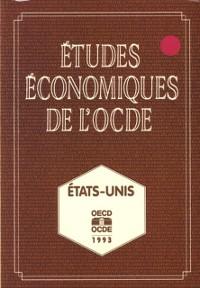 Cover Etudes economiques de l'OCDE : Etats-Unis 1993