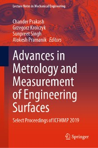 Cover Advances in Metrology and Measurement of Engineering Surfaces