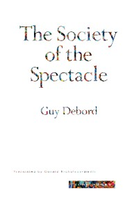 Cover The Society of the Spectacle
