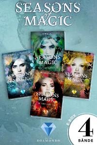 Cover Seasons of Magic: Die E-Box mit allen vier Bänden zur Reihe (Mit Bonuskapitel »Das magische Ende«)