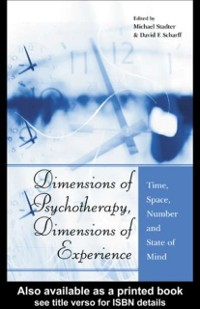 Cover Dimensions of Psychotherapy, Dimensions of Experience