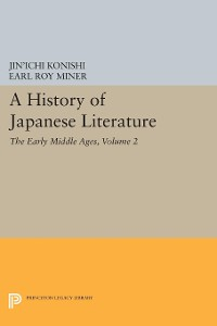 Cover A History of Japanese Literature, Volume 2