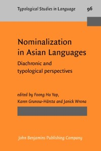 Cover Nominalization in Asian Languages