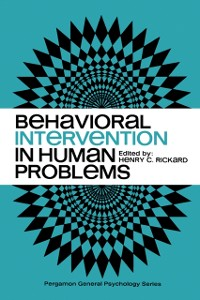 Cover Behavioral Intervention in Human Problems