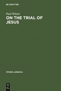 Cover On the Trial of Jesus