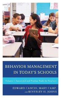 Cover Behavior Management in Today's Schools