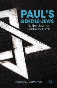Cover Paul's Gentile-Jews