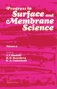 Cover Progress in Surface and Membrane Science