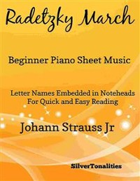 Cover Radetzky March Beginner Piano Sheet Music