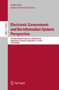 Cover Electronic Government and the Information Systems Perspective