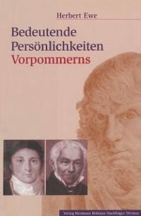 Cover Bedeutende Personlichkeiten Vorpommerns