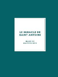 Cover Le Miracle de Saint Antoine