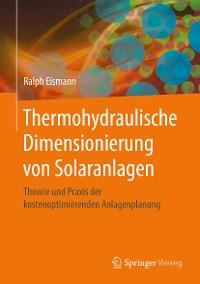 Cover Thermohydraulische Dimensionierung von Solaranlagen