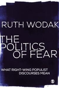 Cover Politics of Fear