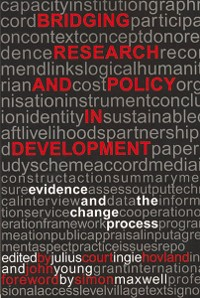 Cover Bridging Research and Policy in Development