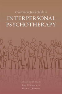 Cover Clinicians Quick Guide to Interpersonal Psychotherapy