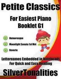 Cover Petite Classics for Easiest Piano Booklet G1