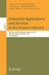 Cover Enterprise Applications and Services in the Finance Industry