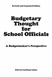 Cover Budgetary Thought For School Officials