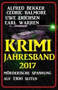 Cover Krimi Jahresband 2017 - Spannung auf 1300 Seiten